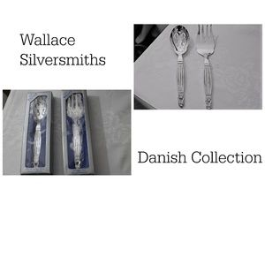 Wallace SiliverSmith Serving Set